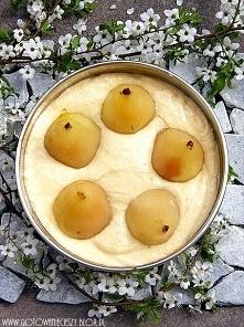 Ciasto migdałowe z gruszkami
