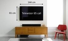 wymiary telewizora 65 cali