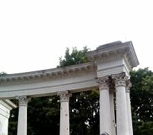 Park im. księcia Józefa Poniatowskiego w Łodzi. Amfiteatr.