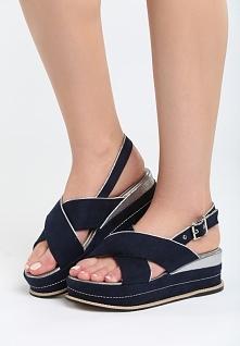 Niebieskie Sandały Halfway To Paradise