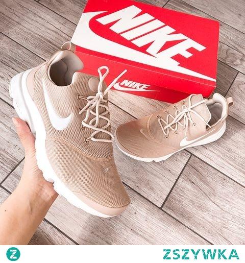 Beżowe Nike