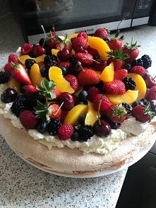 tort bezowy ❤️