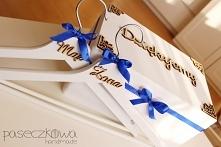 Wieszaki Żona, Mąż, pudełko na koperty i wiele innych na mojej stronie na fac...