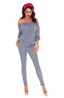 Eleganckie spodnie typu rurki z gumeczką w pasie idealnie sprawdzą się do cod...