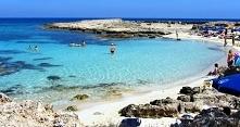 Makronissos Beach Cypr
