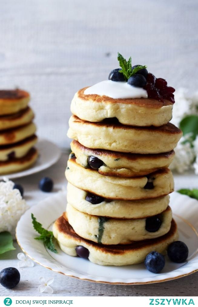 Pancakes z borówkami