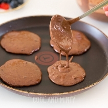 czekoladowe pancakes