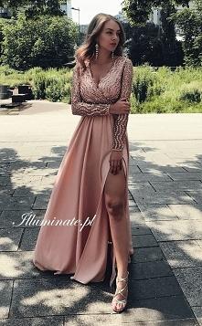 Prześliczna długa sukienka z cudownie wykończoną górą z kolekcji Illuminate &...