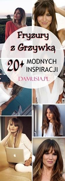 Szałowe i Mega Modne Fryzury z Grzywką: TOP 20+ Świetnych Inspiracji