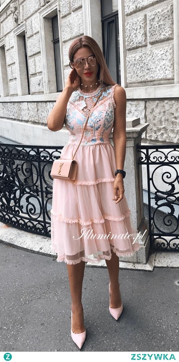 Wyjątkowa midi sukienka z kolekacji Illuminate <3 Idealna na lato <3