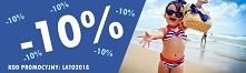 kod promocyjny: LATO2018 -10% na cały asortyment