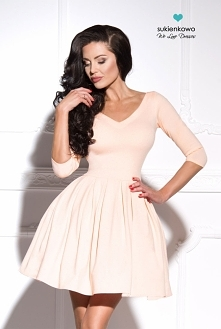 LISA - sukienka z dekoltem ...