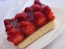 Ciasto z truskawkami i gala...