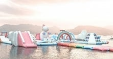 Unicorn island, Inflatable ...