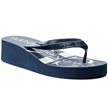 Japonki CALVIN KLEIN JEANS - Tesse Jelly RE9734 Steel Blue