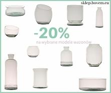 Wyprzedaż wybranych modeli wazonów na sklep.bovem.eu Zapraszamy!