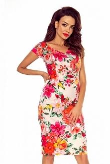 Elegancka sukienka midi b-107