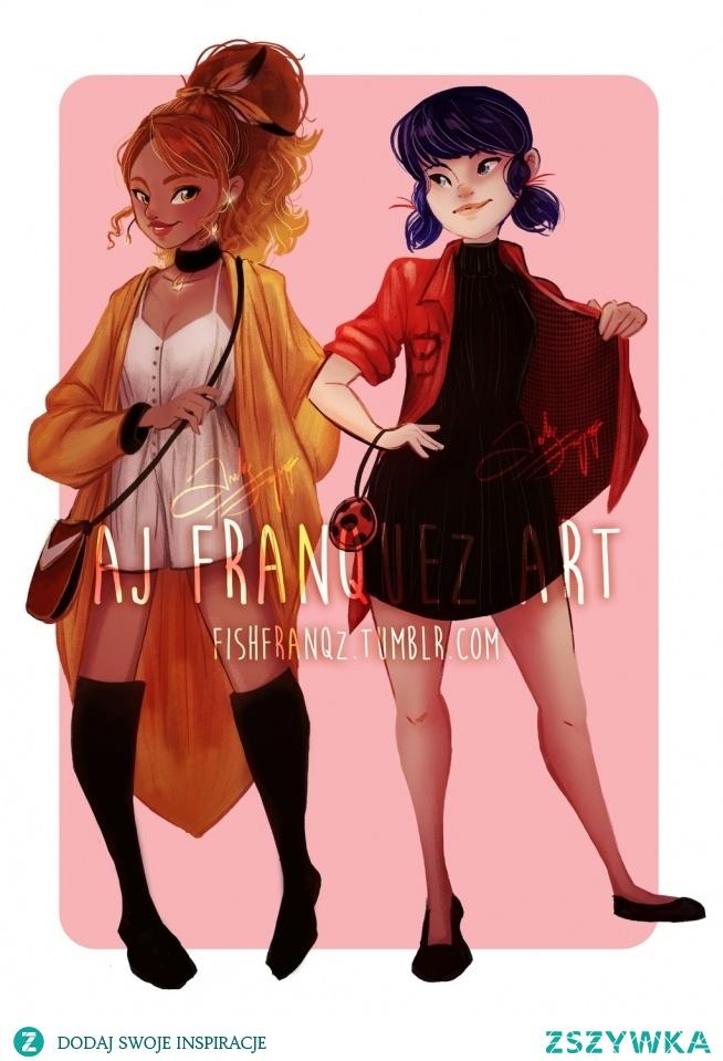 Alya i Marienette w liso biedronkowych barwach