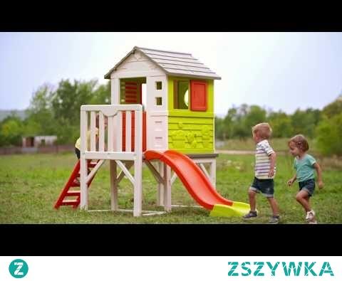 Smoby Domek na palach Plac zabaw - w Brykacze pl