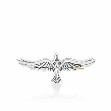 Wspaniała Broszka Srebrna - srebro 925