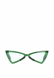 Zielone Okulary Vanilla Bean