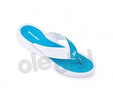 Spokey Chillout - klapki basenowe damskie r.38 (niebiesko-biały)