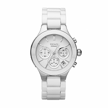 Zegarek DKNY - Chambers NY4912 White/Silver/Steel