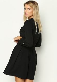 Czarna Sukienka Restrict