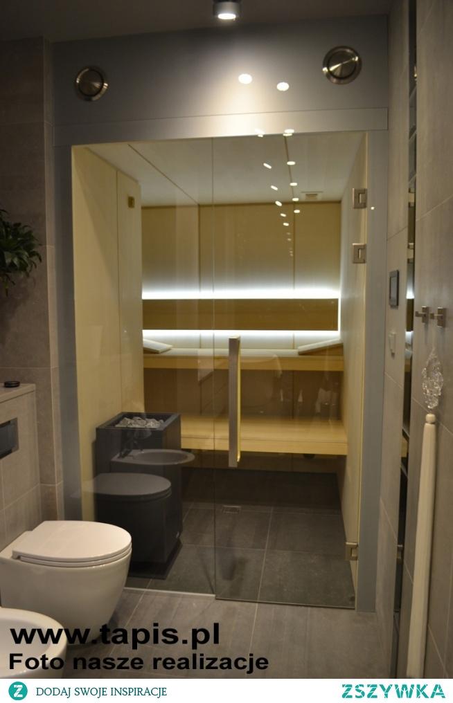 Ultranowoczesna koncepcja sauny - linia Modern. Producent: TAPIS.PL