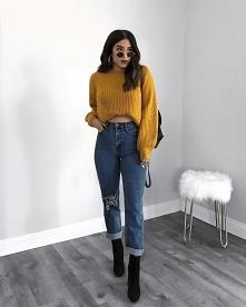 Żółty sweterek ❤
