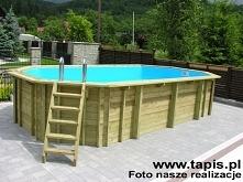 Basen drewniany z oferty TAPIS.PL