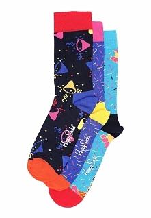 3-pack Urodzinowych Skarpetek Happy Socks