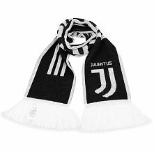 Szalik adidas - Juve Scarf CY5570  Black/White