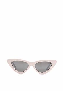 Różowo-Czarne Okulary Helen
