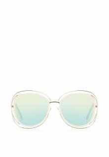 Złoto-Różowe Okulary Modern Lust