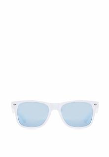 Biało-Niebieskie Okulary Lady Danger