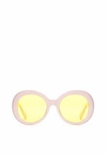 Jasnobeżowe Okulary Pipe Dream