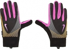 Nike Rękawiczki damskie Elite Storm Fit Tech Run Gloves Black/club Pink/laser...