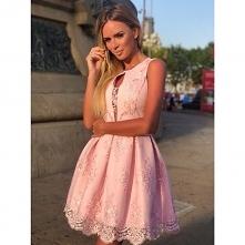 ALISS - Koronkowa sukienka ...