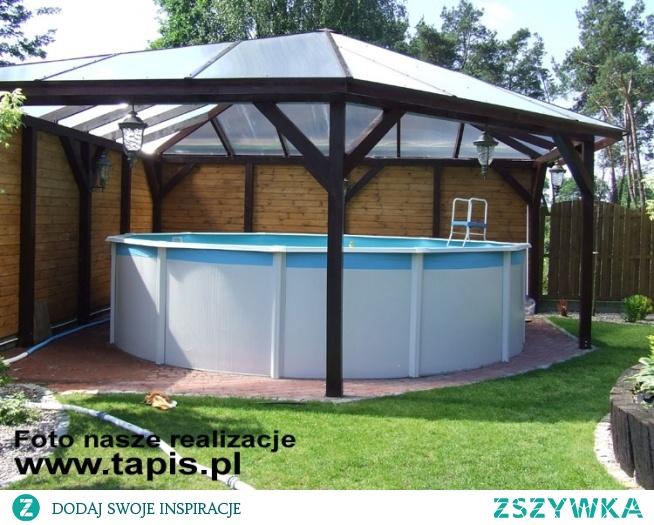 Basen ogrodowy z zadaszeniem - oferta TAPIS.PL