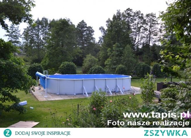 Basen stalowy o długości 10 metrów z oferty TAPIS.PL