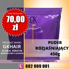 Global Keratin puder rozjaśniający miami beach bombshell 500g lightening powd...