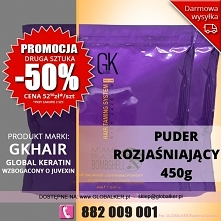 Global Keratin GK Hair puder rozjaśniający miami beach bombshell 500g lightening powder - sklep warszawa PROMOCJA  cena 70zł (wysyłka UPS od 9zł darmowa wysyłka od 99zł) Promocj...