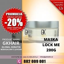 Global Keratin GK Hair maska Lock Me 200g color masque - sklep warszawa PROMO...