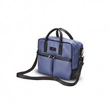 Męska torba na laptopa Solier Limerick niebieska