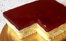 Ciasto wiśniowe z masą serową