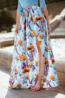 Przepiękna spódnica przyozd...