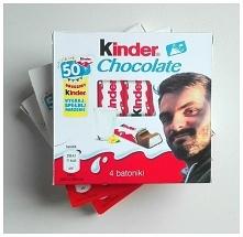 Oryginalny prezent - Kinder Chocolate