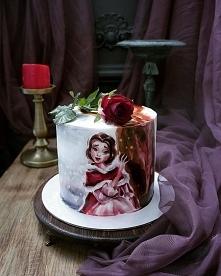 Świetny tort i sceneria <3