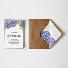 ekologiczne zaproszenia z kopertą
